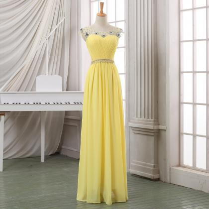 Prom dress,Long chiffon prom dress,..
